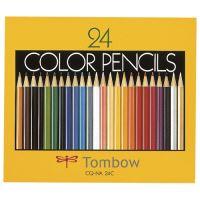 色鉛筆 CQ-NA24C 24色 紙箱入