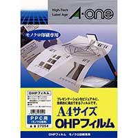 OHPフィルム 27054 コピー用A4