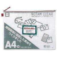 ノータムクリアA4 レッド UNC-A4#19 15枚