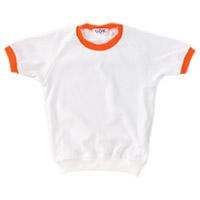 園児用シャツ#285 130 オレンジ
