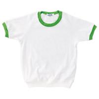 園児用シャツ#285 130 黄緑