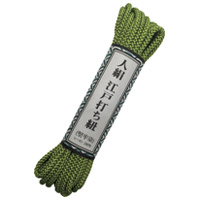 江戸打ち紐細丸モエギ(萌黄)AR-1004
