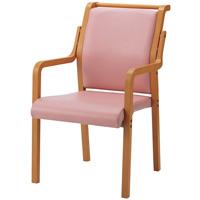 会議イス WF-C8AL ピンク 木製