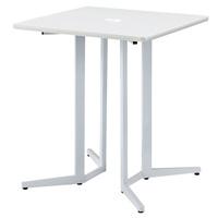 ハイテーブル KHH-0909-WH ホワイト