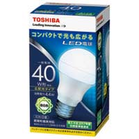 LED電球 広配光40W 昼白色 LDA4N-G-K/40W