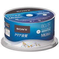 音楽用CDR 50枚 50CRM80HPWP