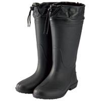 軽量長靴ホッパー01 S ブラック 214144
