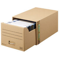 書類保存キャビネット A4判用*1個 D089J