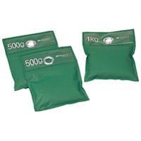 安全おもり(3個組) 500g 2個 1kg 1個