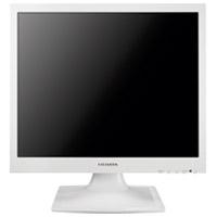 液晶モニター17型 ホワイト LCD-AD173SESW