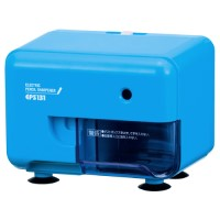 電動シャープナー 芯先調整付き ブルー 3台