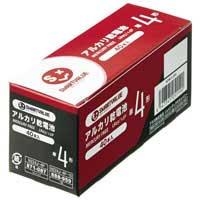 b アルカリ乾電池Ⅱ 単4×40本 N224J-4P-10
