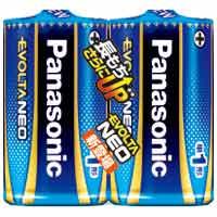 乾電池エボルタネオ単1形 2本入 LR20NJ/2SE