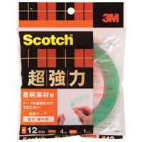 超強力両面テープ透明素材用STD-12 12mm*4m