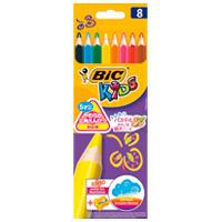 ビックキッズスーパーソフト色鉛筆8色