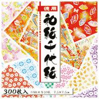 徳用 和紙千代紙(7.5) 018034
