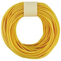 カラーゴム(10m巻) 黄