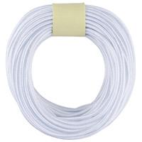 カラーゴム(10m巻) 白