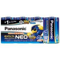 乾電池エボルタネオ単1形 4本入 LR20NJ/4SW