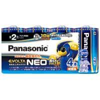 乾電池エボルタネオ単2形 4本入 LR14NJ/4SW