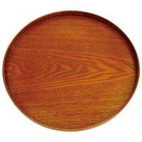 木製丸盆漆塗 30cm