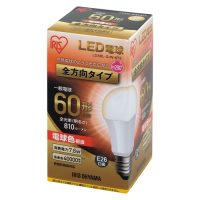 LED電球60W E26 全方向 電球 LDA8L-G/W-6T5