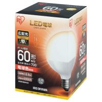 LED電球60W E26 ボール球 電球 LDG7L-G-6V4