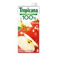 トロピカーナ100%アップル 1L/6本