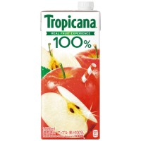 ※トロピカーナ100%アップル 1L/6本