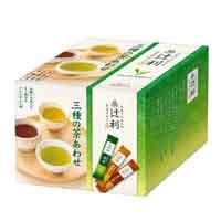 辻利 インスタント 三種の茶あわせ100P
