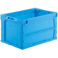 オリタタミコンテナL51510BL-J ブルー 10個