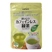 カフェインレス緑茶インスタント
