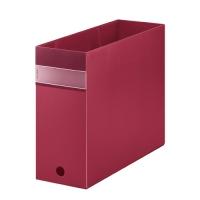FV ボックスファイル(透明) FV4903Tアカ