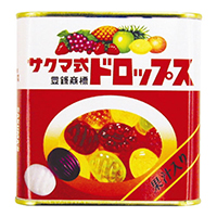 サクマ式 缶ドロップス 10缶入り