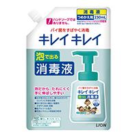 キレイキレイ薬用泡で出る消毒液詰替 24本