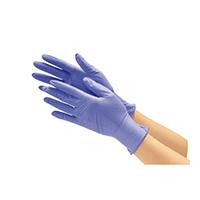 ニトリル使い切り手袋 ブルーL 10箱