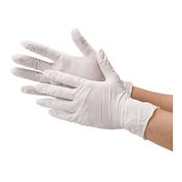 △ニトリル使い切り手袋 ホワイトL 10箱