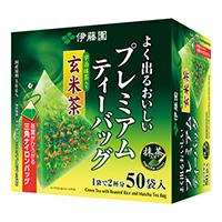 ※プレミアムティーバッグ抹茶玄米茶50P6個