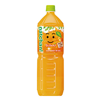なっちゃんオレンジPET 1.5L/8本