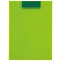 クリップファイルA4 Lグリーン ACT-5924-33