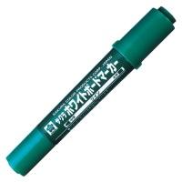 ホワイトボードマーカーツイン WBK-T緑10本