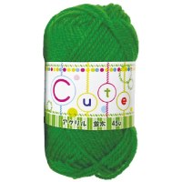 毛糸(並太) 45g 緑