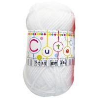 毛糸(並太) 45g 白