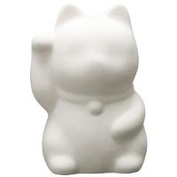お絵かき貯金箱 招き猫(右手上げ)