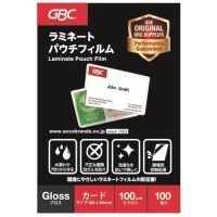パウチフィルム 一般カード100枚 YP60090Z