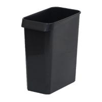 エコン ダストボックス 角型 #13 ブラック