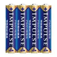 インパルス アルカリ乾電池 単4 4個パック