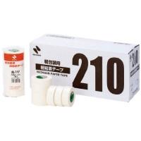 紙粘着テープ 210-18 白 18mm×18m 7巻