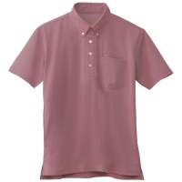 半袖BDポロシャツ ワイン 3L