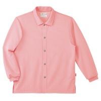 前開きシャツCR816 ピンクS